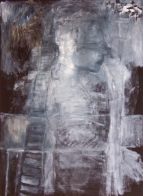 Night Blind II; oil on paper, 2006